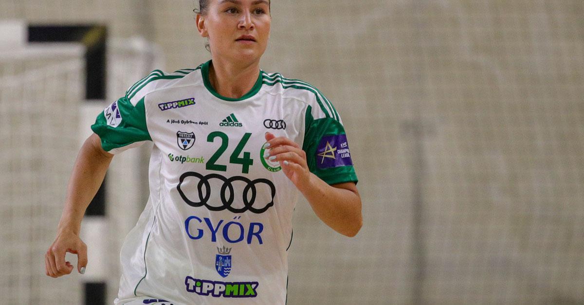 Nem számít az olimpiai bajnok átlövőre a Győr