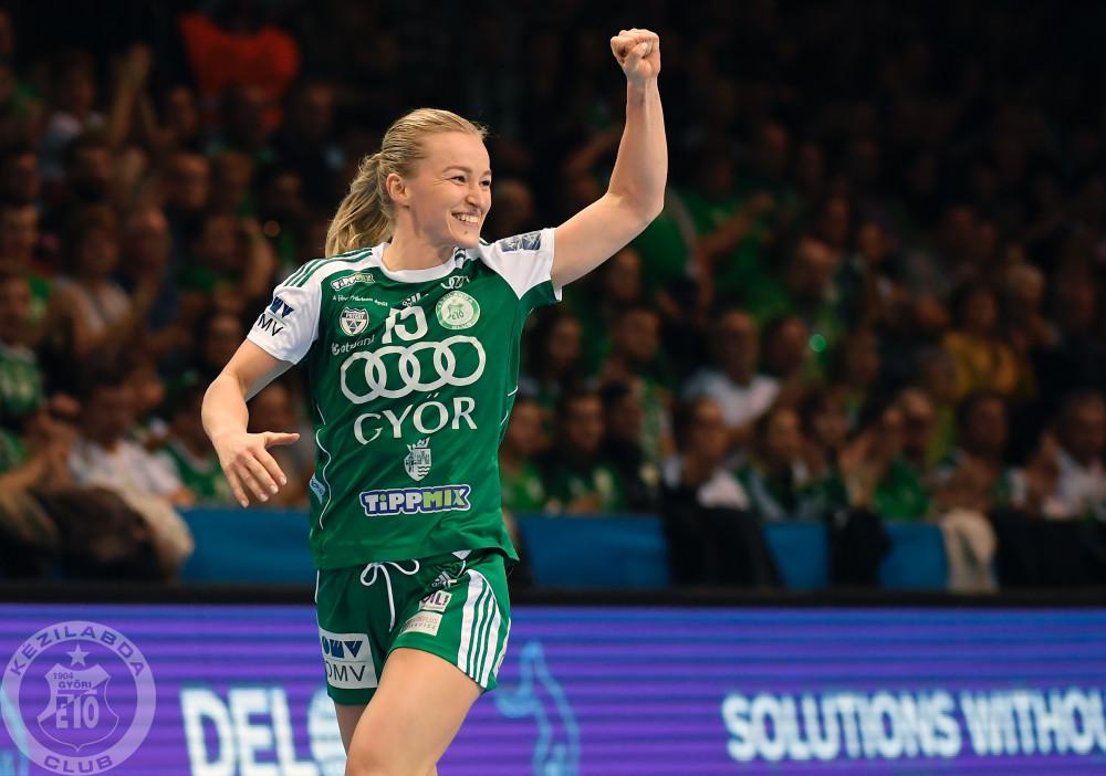 A Győr nyerte a zöld-fehérek rangadóját