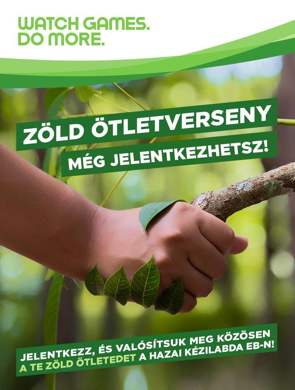 Egy zöldebb férfi kézilabda Eb-ért