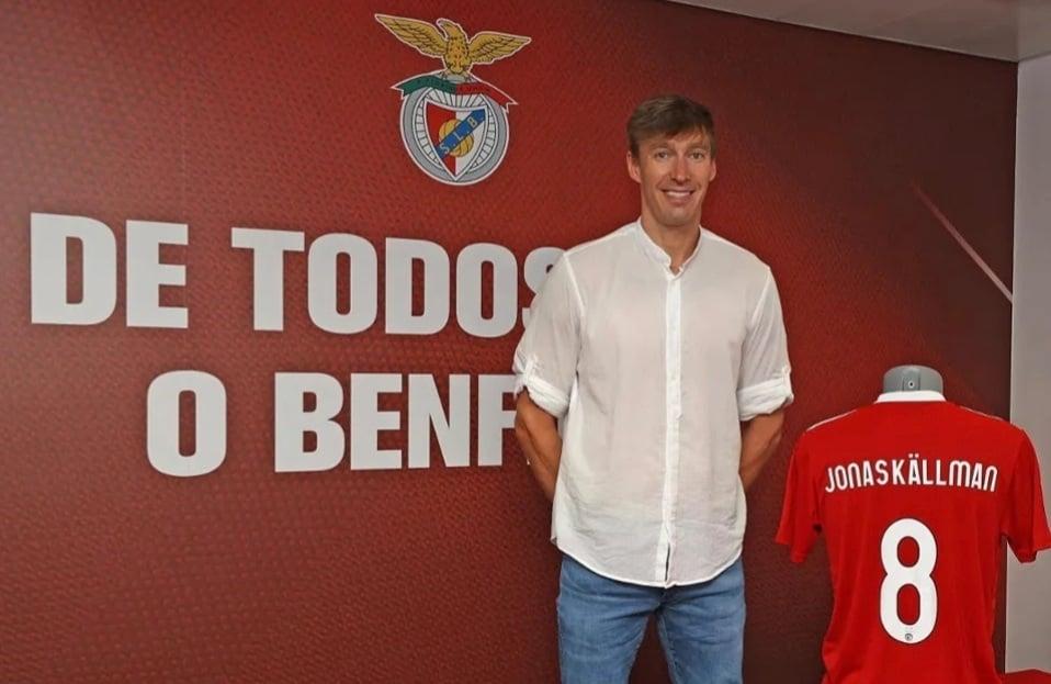 Jonas Källman a Benfica csapatánál folytatja – Hivatalos