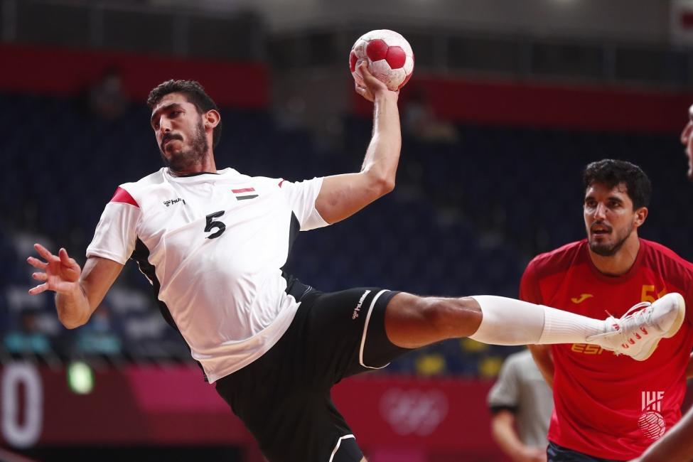 Omar Yahia az olimpia legjobb jobbátlövője