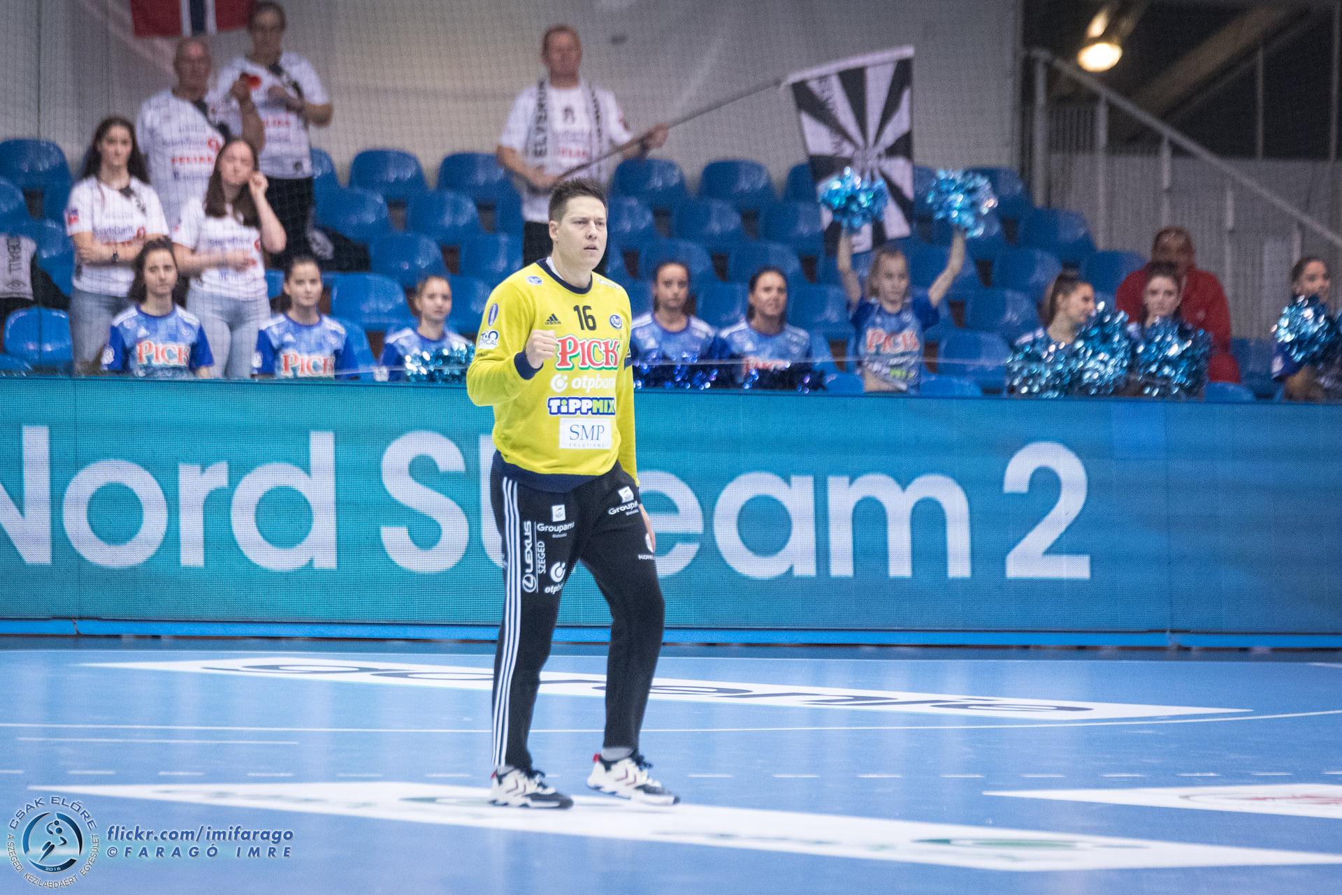 A Szeged végig vezetve nyert a BL-döntős ellen.